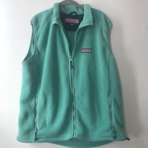 Vineyard Vines • Fleece Zip-up vest *XL